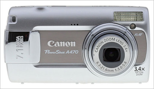 canon cybershot a470