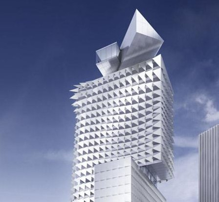 Coop Himmelb(l)au will receive a prize for the future tower