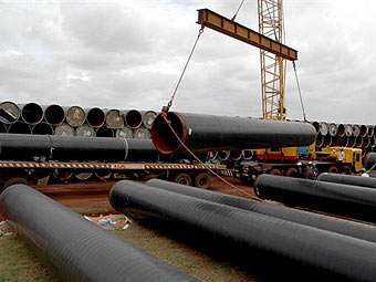 China and the USA have quarrelled because of steel pipes