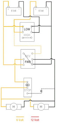 Dual-6V_LOW-FWD-GO Wheel Power Switch Wiring Diagram on power switch cover, 2 pole switch diagram, power switch repair, power switch connector, power switch circuit, two lights one switch diagram, power switch assembly, s3 single pole switch diagram, double light switch diagram, power window motor schematic, power generator diagram, power switch relay, power capacitor diagram, electrical switch diagram,