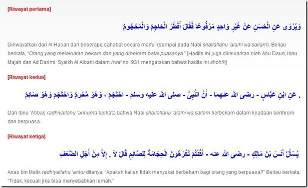 bekam islam