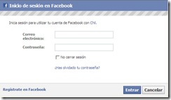 FacebookLogin