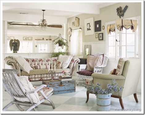 country living shabby chic 8