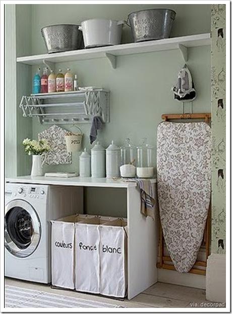 laundry room - vintage