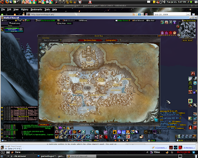 World of Warcraft on (Linux) Ubuntu 64-bit with NVIDIA GeForce 7300LE