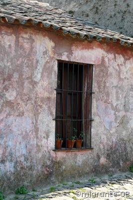 la ventana y el tejado