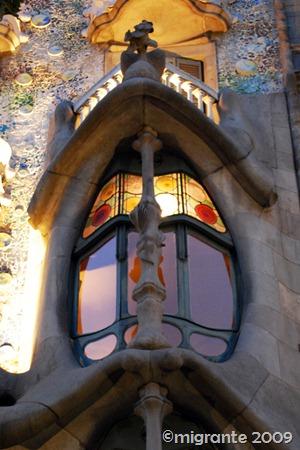 casa batlló - balcón