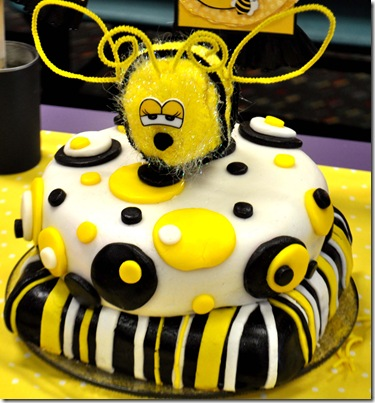 The Autocrat Bumble Bee Cake