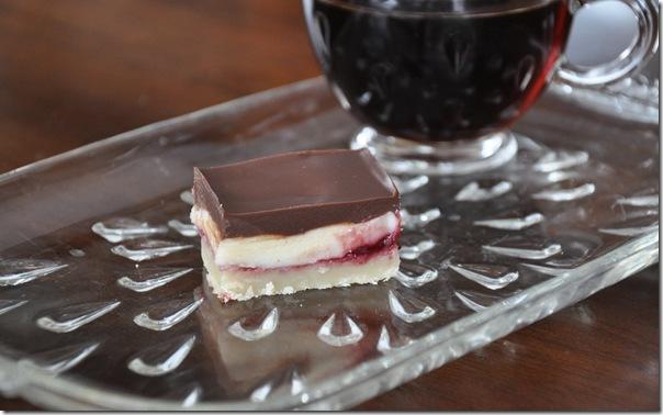 Chocolate Raspberry Bars