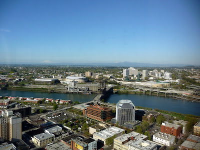 A clear day in Portland…