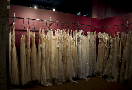 Personal photo: Claire Pettibone line at Little White Dress