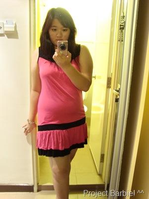 c pink dress