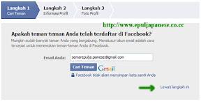 Cara Mendaftar di facebook