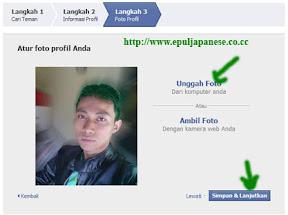 Panduan / cara mendaftar di facebook