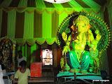 Sri Ganesh Navyuga Samithi, Feelkhana - 14ft - 5.25kgs laddu - @ GR8Telangana.com