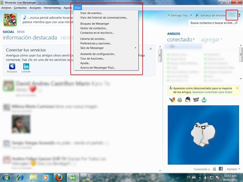 Messenger Plus compatible con MSN 2011