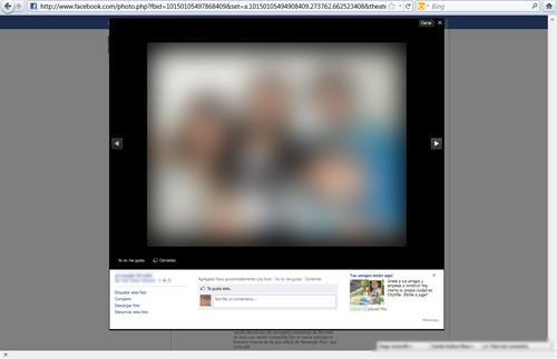 Nueva forma de ver fotos en Facebook