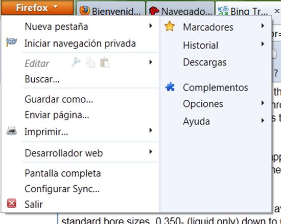 Imágenes Mozilla Firefox 4