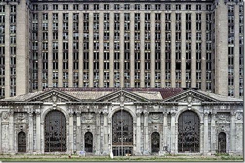 Detroit Michigan Central Station