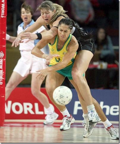 Australia New Zealand netball