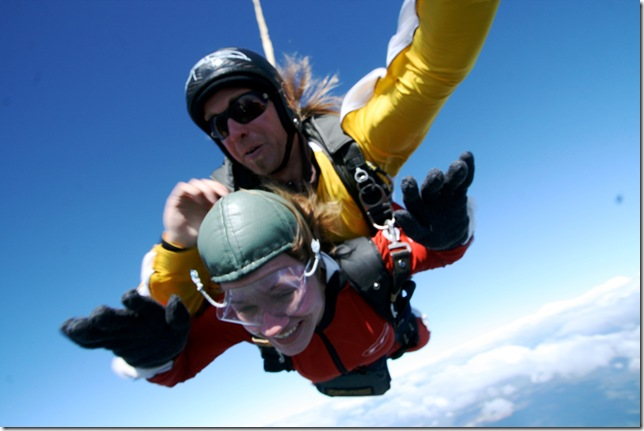 Clare Sky Diving 2