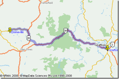Grafton to Inverell
