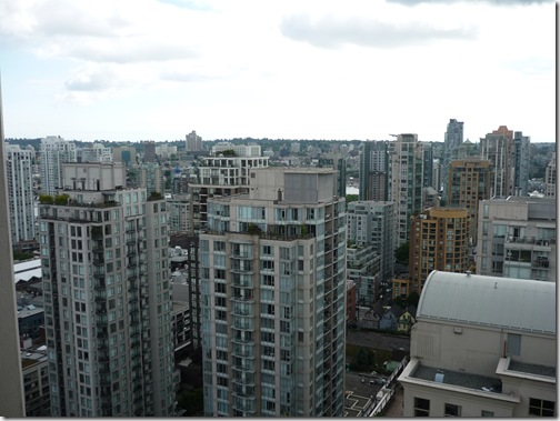 Vancouver skyscrape