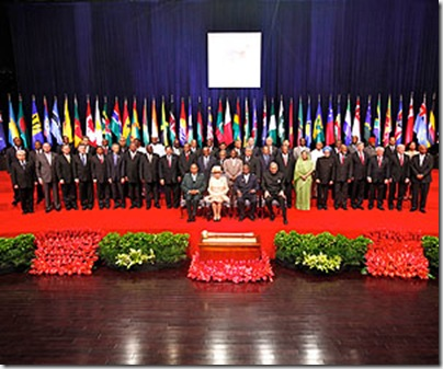 CHOGM 2009 Family Photo