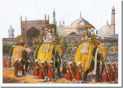Delhi Durbar 1903 - A Procession