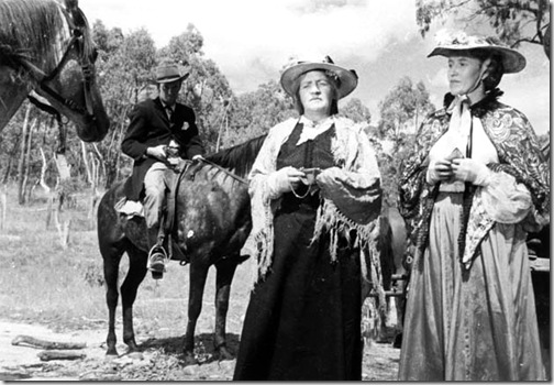 Captain Thunderbolt, Mrs Blake, Aunt Kay