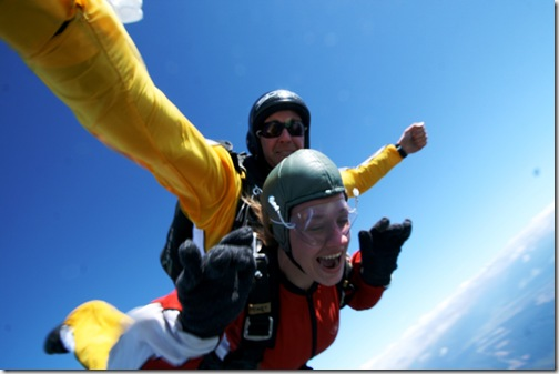Clare Sky Diving 3
