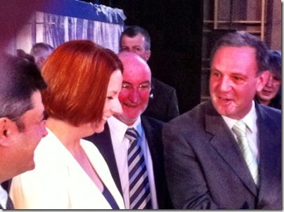 Julia Gillard NBN launch Armidale