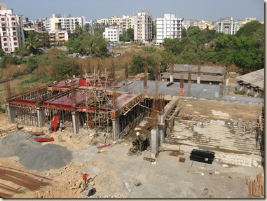 Vidya Mandir School New Bldg.Const.Work 011