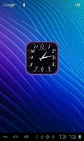 Screenshot of Analog Clock Widget