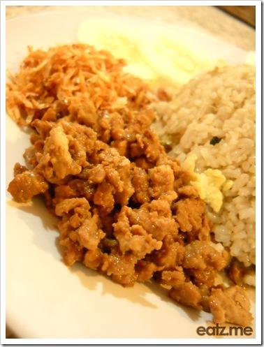 Tesco Nasi Goreng Thai Close Up [eatz.me]