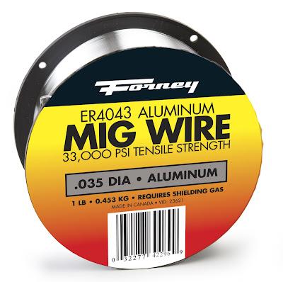 MIG Wire .035 dia aluminum