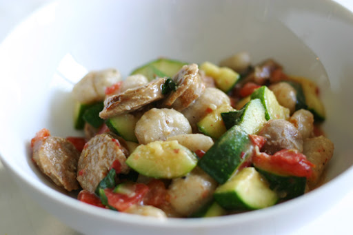 Proceed with Caution: Gnocchi with summer vegetables