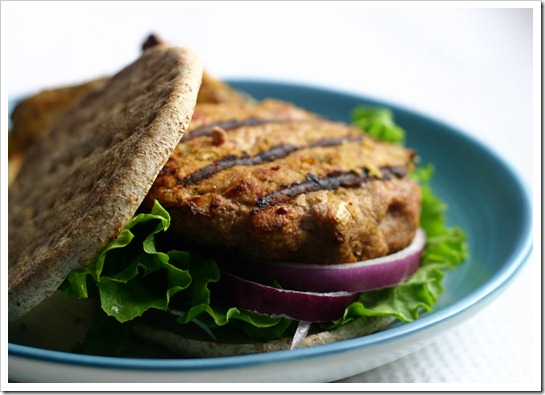Turkey and Chickpea Burgers