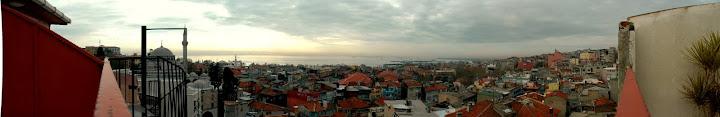 Pogled na Istanbul iz hotela