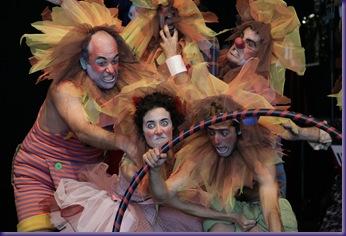 la Compañia de Clown de Jose Piris en Expo 2008