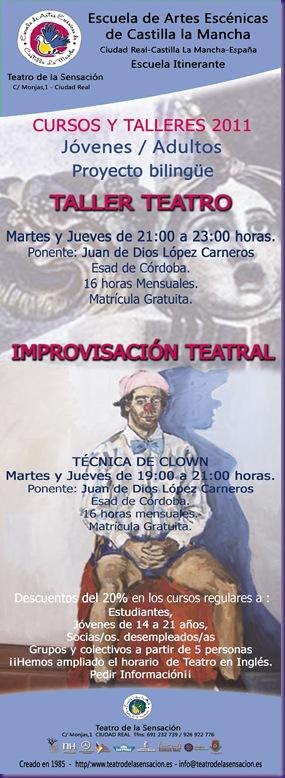 taller teatro e improvisación