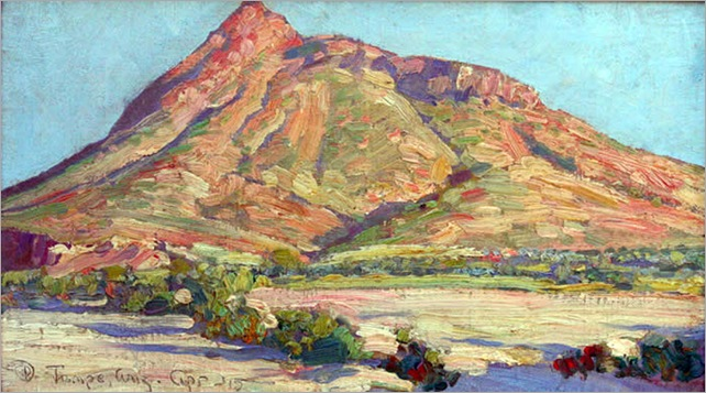 Maynard Dixon_Tempe Buttes 1915