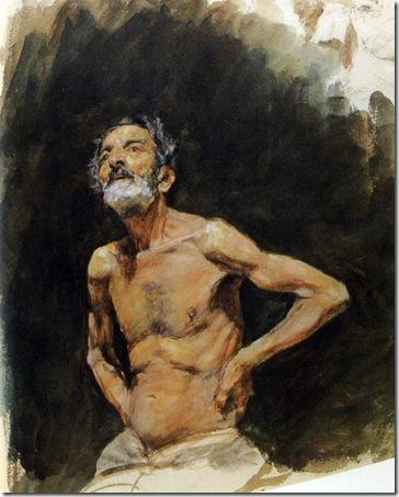 fortuny - viejo desnudo