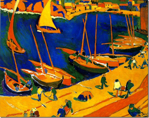 derain - Port de Peche, Collioure (1905)