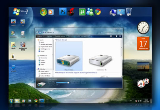 Beautiful Aero X v2.0 Theme for Windows 7