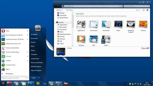 CleanX7 Windows7 Theme