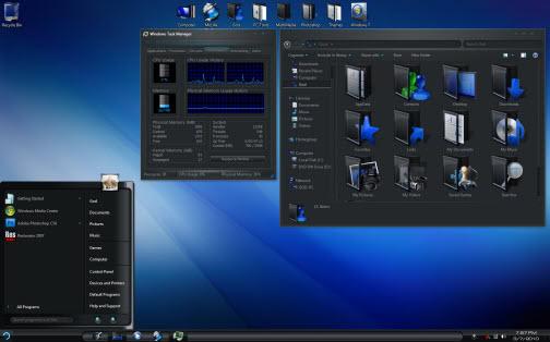 Concave Windows 7 Theme