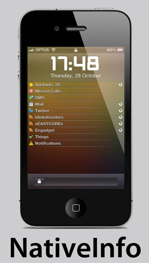 NativeInfo for iPhone 4