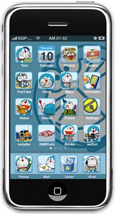 Doraemon Theme For iPhone