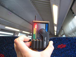 RF radiation in trains